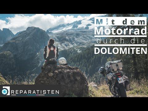 Diese Pässe dürfen auf deiner Dolomiten Motorradtour nicht fehlen!