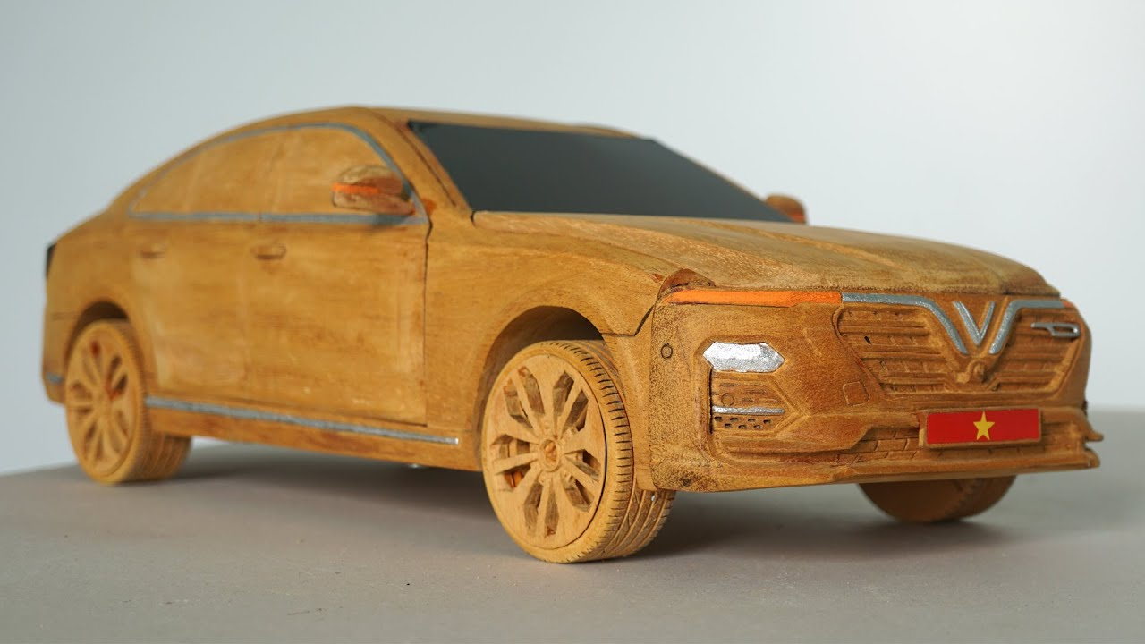 Wooden Car - Vinfast Lux A2.0 - Amazing Wood Carving Skill and Techniques