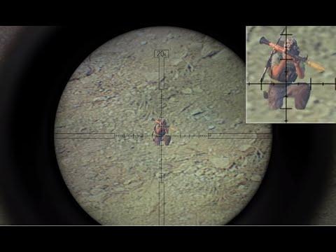 Снайпер с Т-5000 снайперской винтовкой России ARMA 3 Серьёзные игры на тушино от Dron