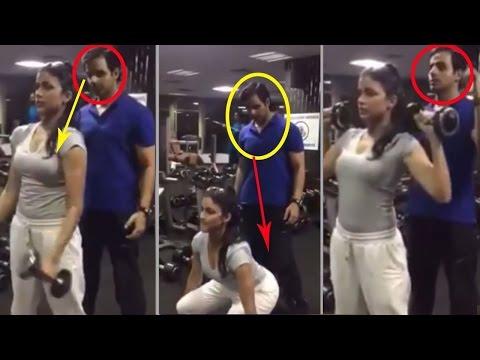 Lavanya Tripathi Gym Workout Video  ...