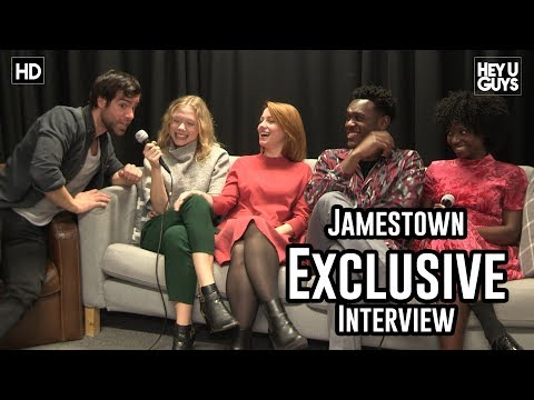 Jamestown Season 2 - Naomi Battrick, Ben Starr, Niamh Walsh, Abubakar Salim & Abiola Ogunbiyi
