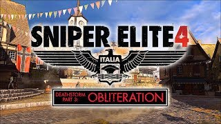 Прохождение Sniper Elite 4 DLC: Deathstorm 3: Obliteration (Смертельный шторм 3: Устранение)