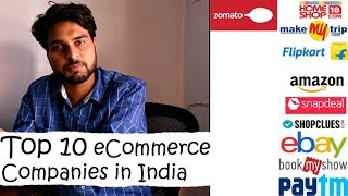 Top 10 eCommerce Companies in India
