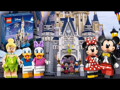 Lego Disney Castle' Intricately Recreates Disney Resort's Cinderella