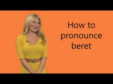 download How to pronounce beret