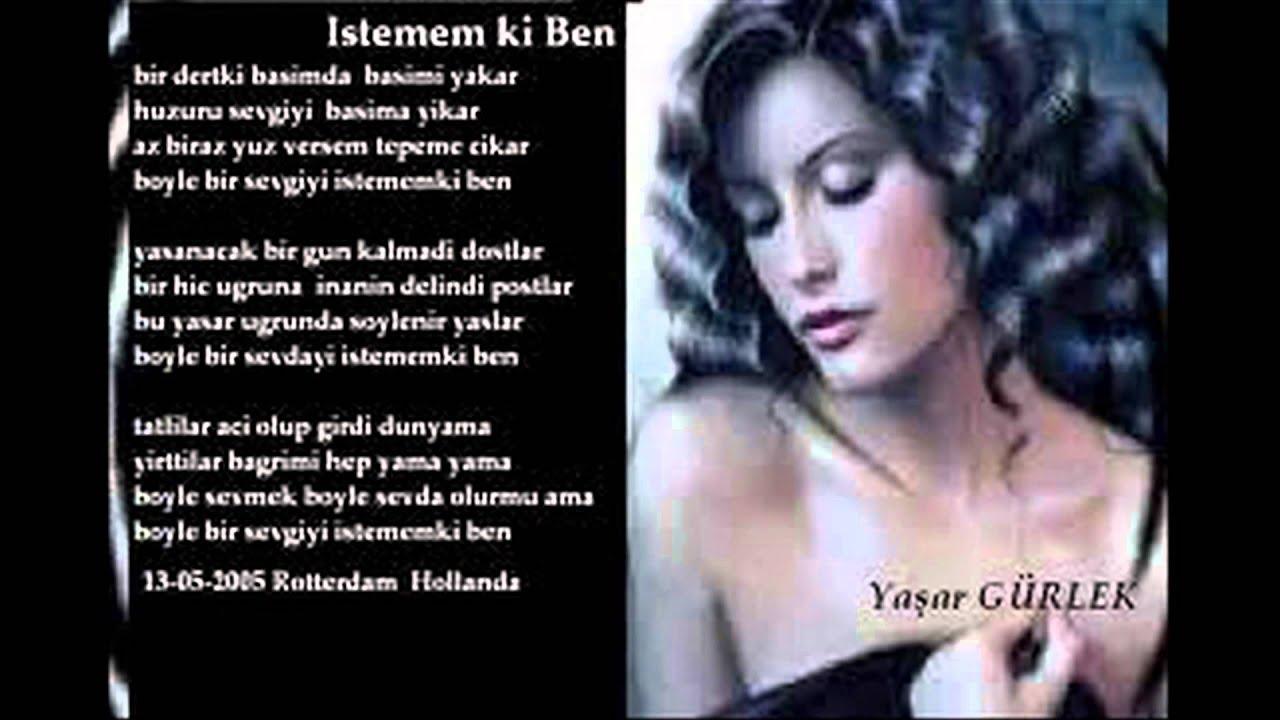 İsmail Malatya Ya Seninle Ya Sensiz Şiiri