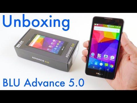 BLU Advance 5.0 Unboxing And Setup
