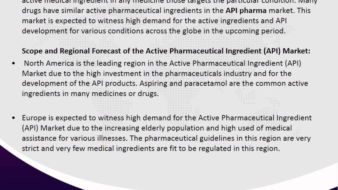 Active Pharmaceutical Ingredient (API) Market Market