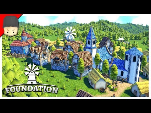 Foundation : Medieval City Builder! Pre-Alpha Gameplay