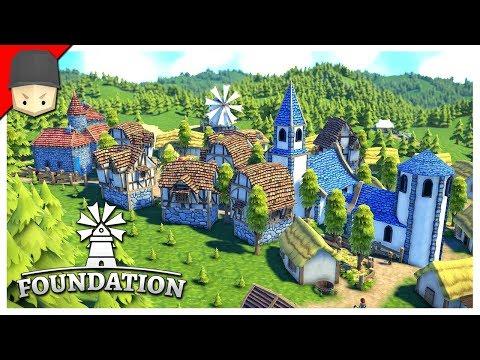 Foundation : Medieval City Builder! Pre-Alpha Gameplay