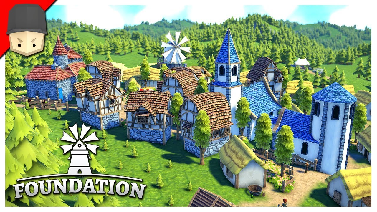 Foundation : A new era of organic city-building simulation! by