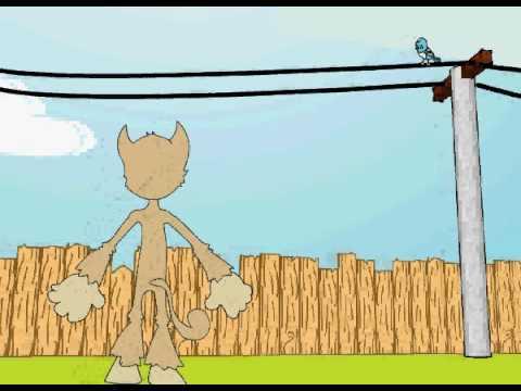 o gato e o passaro azul avi