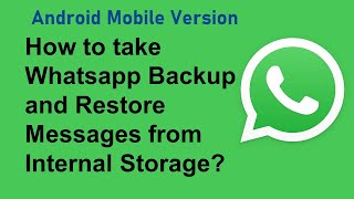 Top Backup messages of Whatsapp Similar Apps