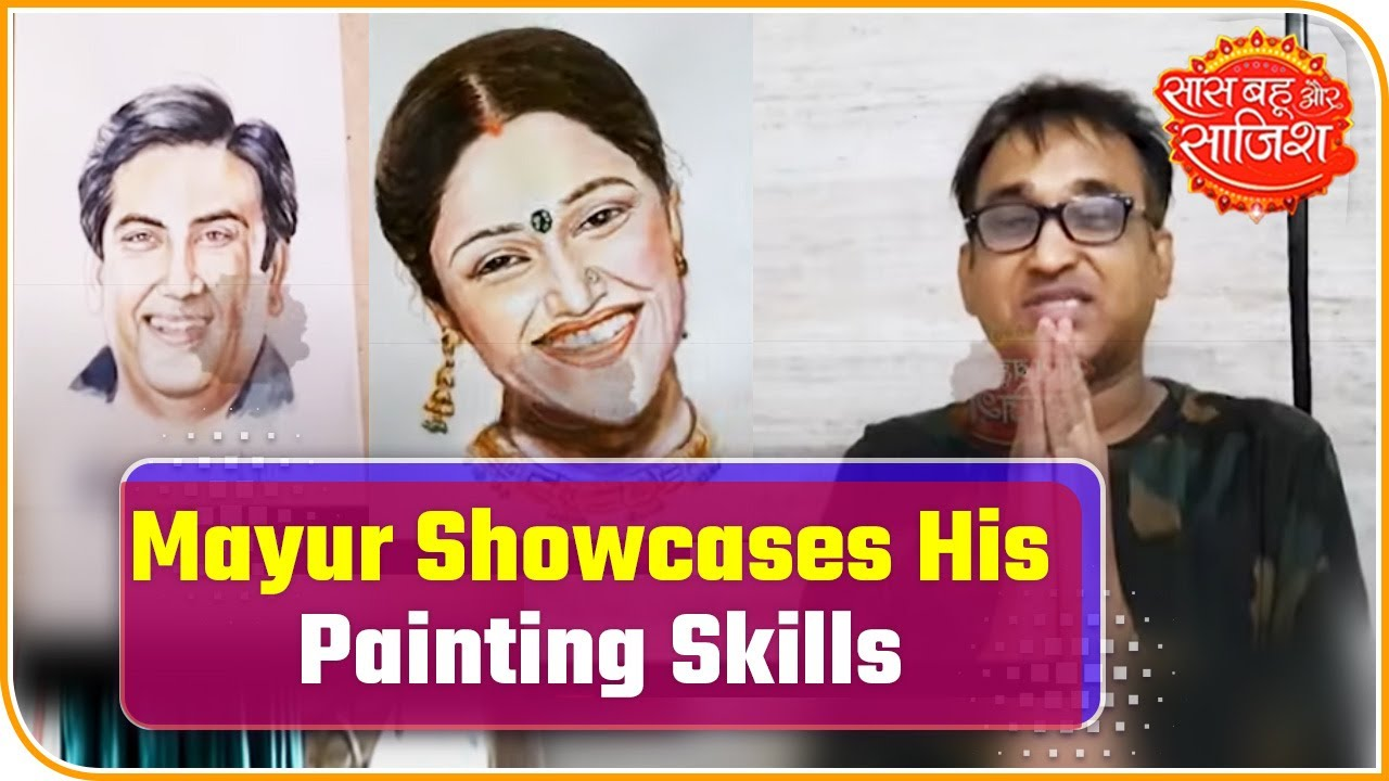 Sundar Veera Aka Mayur Vakani Showcases His Painting Skills During Lockdown Youtube Mayur has two younger sisters, disha vakani, and khushali vakani. sundar veera aka mayur vakani showcases his painting skills during lockdown