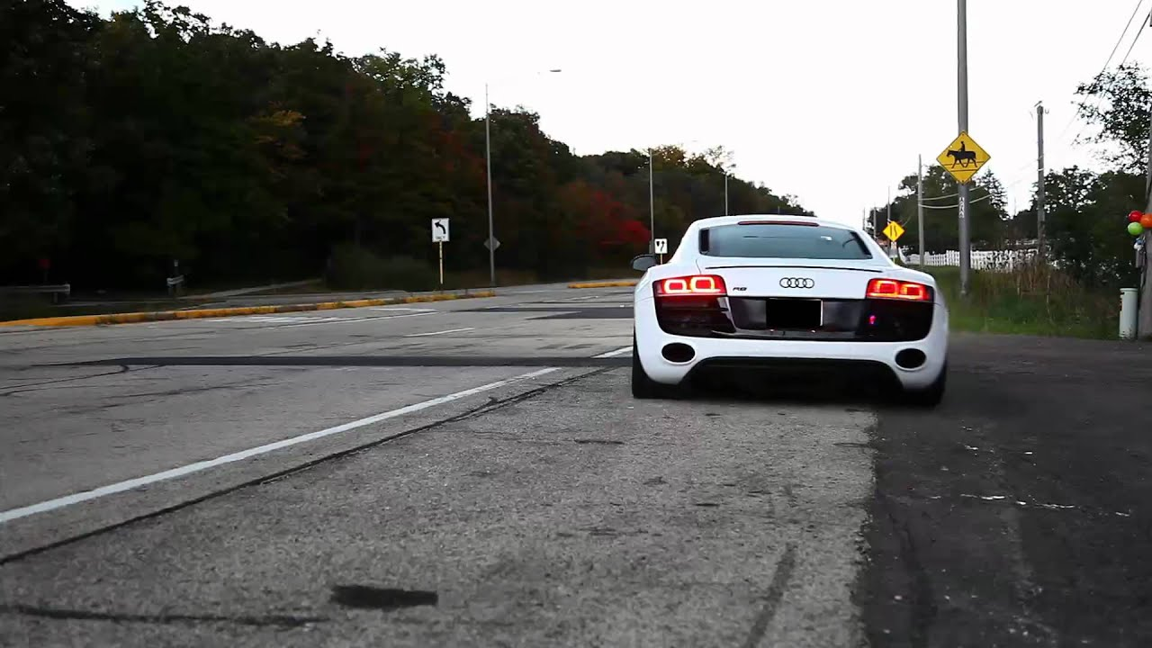 Akrapovic Audi R8 Exhaust Youtube