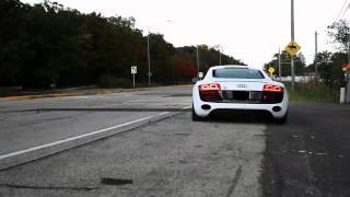 Akrapovic Audi R8 exhaust