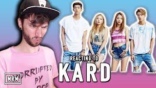REACTING TO KARD!!!