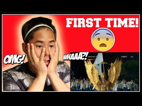 Cuplikan Kemeriahan Opening Ceremony Asian Games 2018 (FIRST TIME EVER REACTION!)
