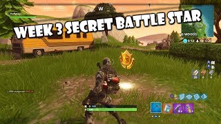 Week 3 Secret Battle Star Location! [SHOWN IN MAP] - Fortnite Battle Royale Game-play l 14ALL