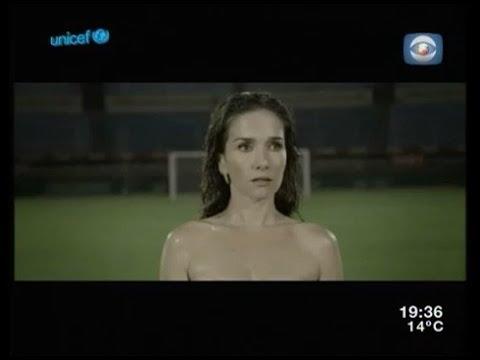 Natalia Oreiro and Diego Forlan in spot for Uruguay football team - by Martin Sastre