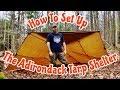 How To Set Up The Adirondack Tarp Shelter