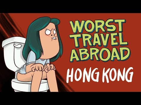 WORST TRAVEL ABROAD! (Animation)