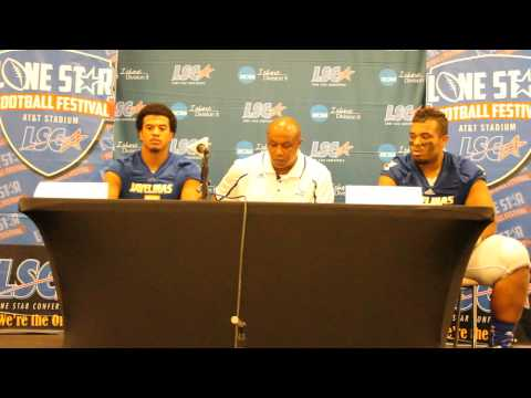 Lone Star Football Festival Post Game Interview