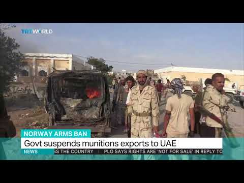 Norway suspends arms exports to UAE