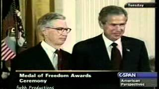 Mister Rogers Receives Presidential Medal of Freedom (2002)