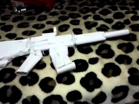MW3 paper M4A1 with scope