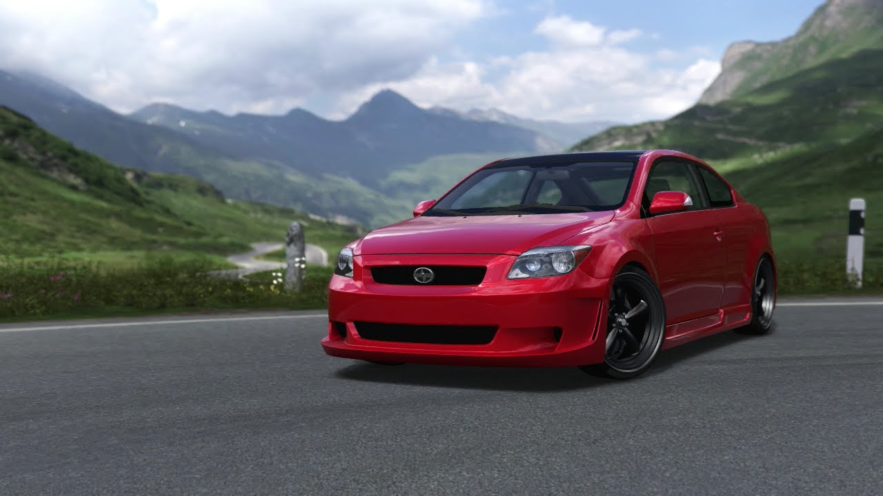 Scion scion tc horsepower : Forza Motorsport 3: My 2005 Scion tC Down The One Mile! (465 ...
