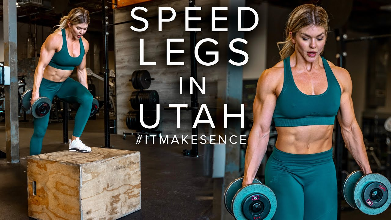 BROOKE ENCE VLOGS | Daily Meals and Training Sore Muscles