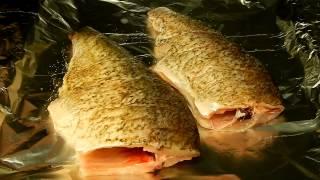 Рыба в фольге.Лещ в духовке.