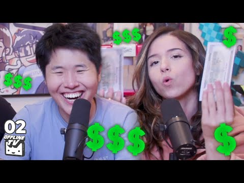 HOW MUCH MONEY DOES OFFLINETV MAKE? (WE RANKED EVERYONE) Ft Michael Reeves | OfflineTV Podcast #2