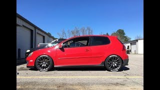 Installing Tire Stickers on the GTI!