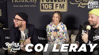 "Coi Leray Talks ""Huddy"" Single, Names Chris Brown ""King Of R&B"" + Spider Man ""Save The Day"" Feature"