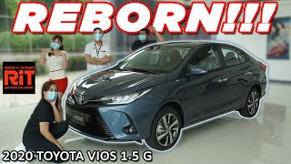 2020 Toyota Vios 1.5G AT Review : Subcompact Sedan in the Philippines
