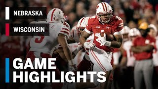 Highlights: Nebraska Cornhuskers vs. Wisconsin Badgers | Big Ten Football