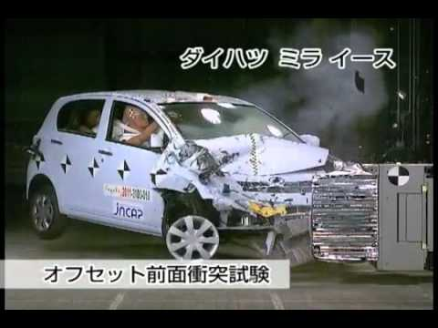 Crash Test 2011 - Daihatsu Mira (Frontal Offsetl) JNCAP