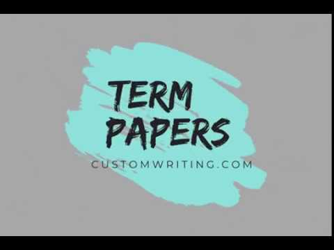 History of Term Papers