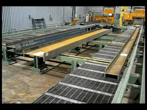 Peddinghaus Automated Structural / Architectural Steel Cutting, Drilling & Coping System