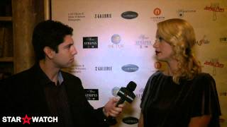 Alison Eastwood interview at Stars For Stripes red carpet gala