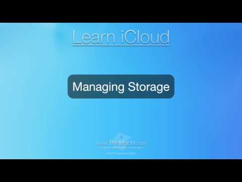 iCloud Tutorial: How to View and Manage your iCloud storage from a Mac or iOS Device!