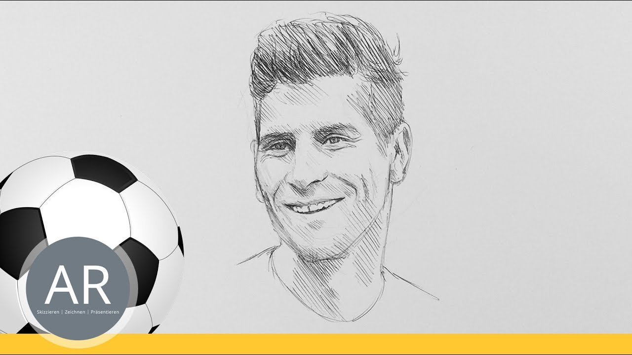 Fussball Quiz Teil 10 11 Schnellportraits Zeichnen Schnellskizzen
