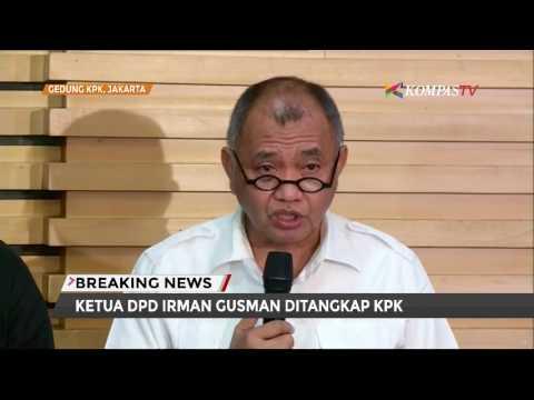 KPK Jelaskan Kronologi OTT Irman Gusman