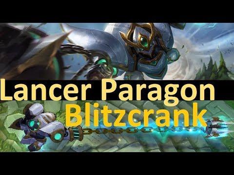 Lancer Paragon Blitzcrank - Full Game of the OTHER 1350RP Blitz Skin