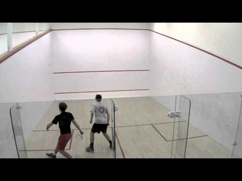 Men's College Squash: Colby and Wesleyan