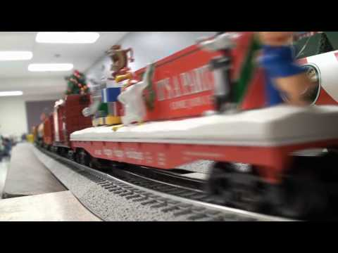 Lionel Legacy O Gauge Christmas Train Display