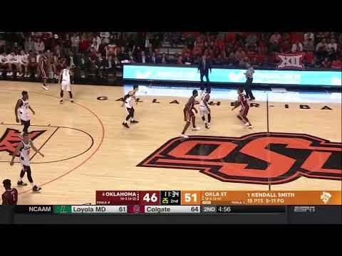 Oklahoma vs Oklahoma State Men's Basketball Highlights