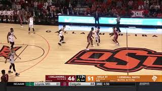 Oklahoma vs Oklahoma State Men's Basketball Highlights